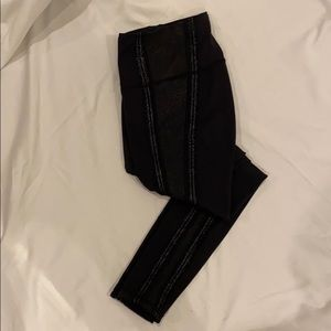 Limited edition Lululemon lace inset tights